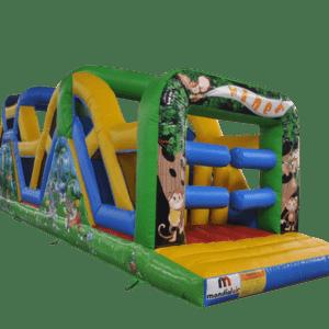 Louez Parcours gonflable animaux