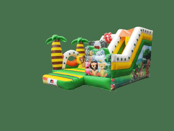 Location château gonflable la jungle