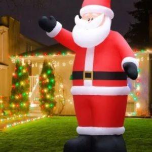 Location Père Noël gonflable